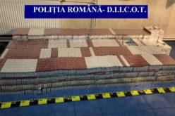 Razie de amploare la Botoşani. DIICOT a confiscat peste 330.000 de pachete de ţigări