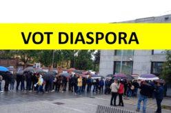 Prezenţă uriaşă la vot în Diaspora în prima zi a turului doi pentru prezidenţiale
