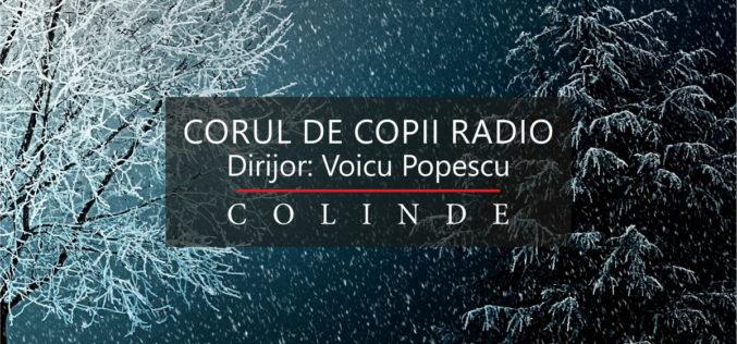 Corul de Copii Radio începe colindele la Sala Radio din Bucureşti