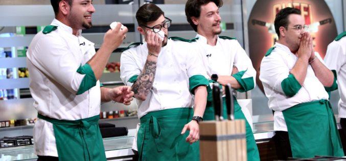 Semifinaliștii Chefi la cuțite, cu ochii în lacrimi. Iată din ce motiv!