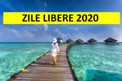 Iată câte zile libere vor avea românii în anul 2020