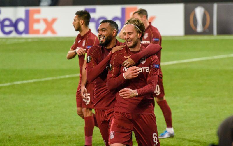 CFR Cluj s-a calificat în primăvara europeană. A învins echipa Celtic cu scorul de 2-0