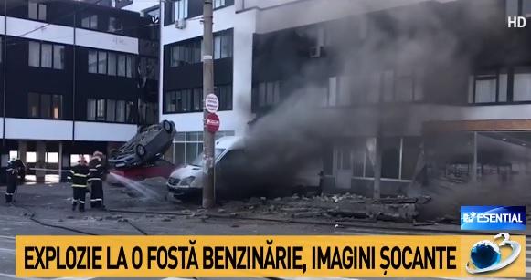 UPDATE Cum a sărit în aer o benzinărie dispărută în acte ...  |Explozie Galati