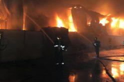 Alertă de extremă urgenţă, emisă de ISU Bucureşti ILFOV din cauza unui incendiu uriaş din Afumaţi