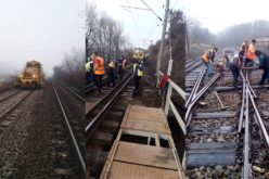 CFR s-a apucat de reparaţii la calea ferată în toiul iernii. A deschis 205 de șantiere pe rețeaua feroviară