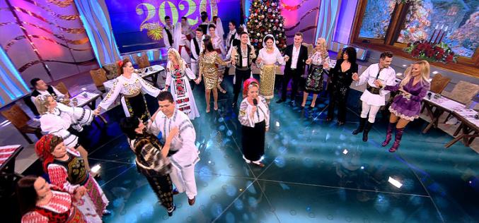 Mirela Vaida, Liviu Vârciu și Andrei Ștefănescu, maeştrii de ceremonii la Antena 1 în ultima zi din 2019