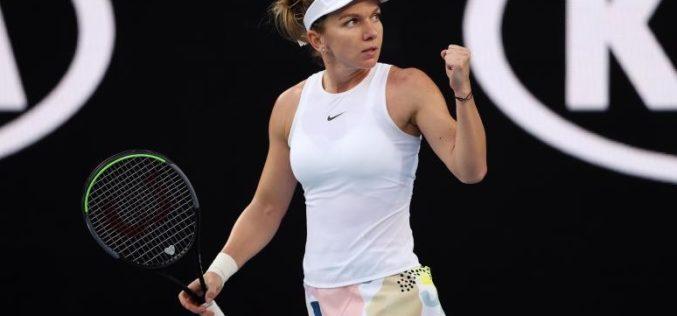 Simona Halep, calificare spectaculoasă în optimi de finală la Australian Open 2020