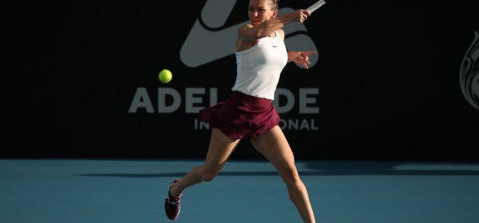 Simona Halep, meci catastrofal la Adelaide. A fost spulberată de Aryna Sabalenka