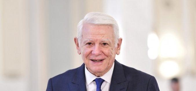 Decizie şocantă a CCR: Teodor Meleşcanu, ales ilegal Preşedinte al Senatului României