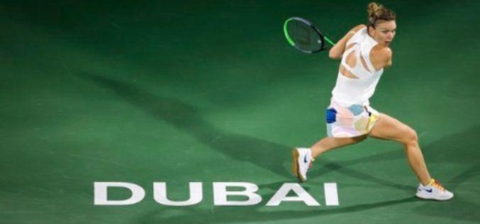Simona Halep, magnifică în semifinale la Dubai