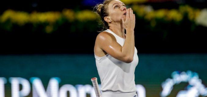 Simona Halep spulberat-o pe Jennifer Brady în semifinala de la Dubai