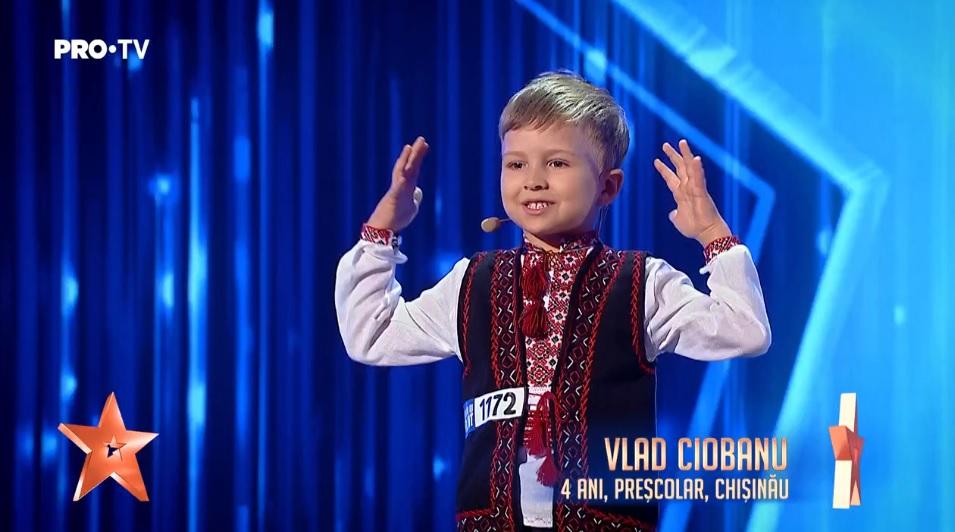 Vlad Ciobanu Pustiul Minune De 4 Anisori Care A Uimit Juriul Romanii Au Talent Video Recentnews Ro