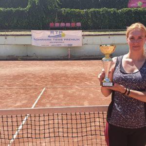 Ionela Lesenciuc a cucerit cel de-al doilea turneu în circuitul RTP